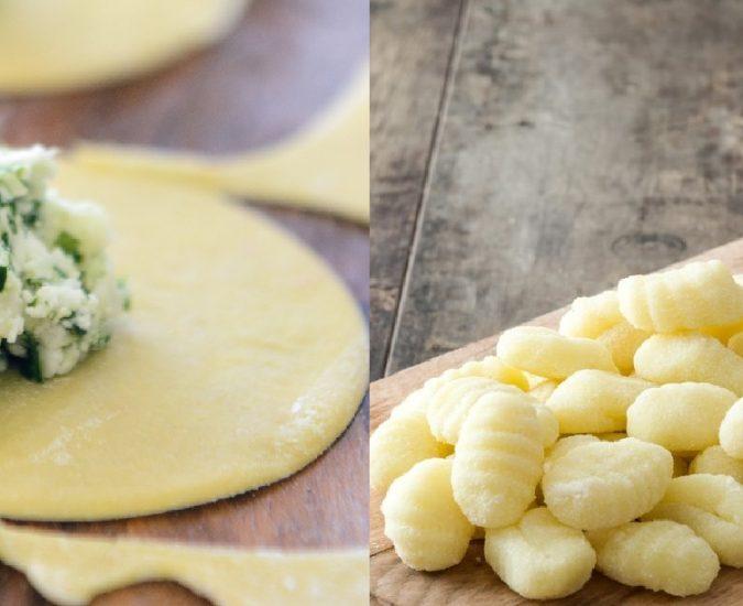 Le farine precotte nei ripieni e gnocchi di patate